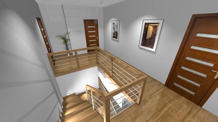 Nowość Schody z drewna, projektowanie i produkcja schodów drewnianych - Konar GZ67